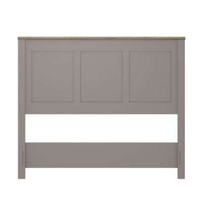 Viola Gray/Light Brown Queen Size Headboard