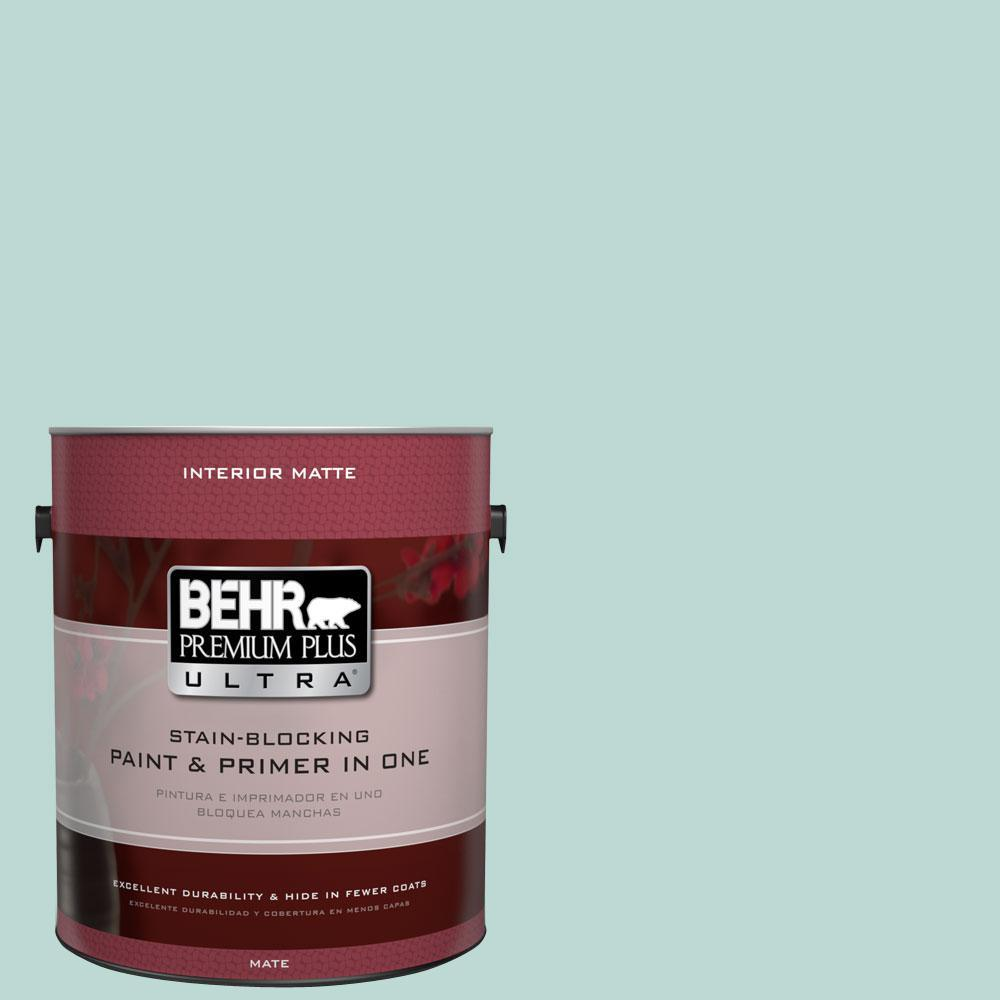 1 gal. #M440-2 Serene Breeze Matte Interior Paint