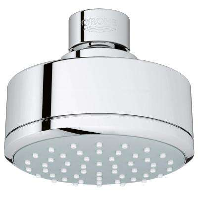 New Tempesta Cosmopolitan 100 1-Spray 3.93 in. Raincan Showerhead in StarLight Chrome