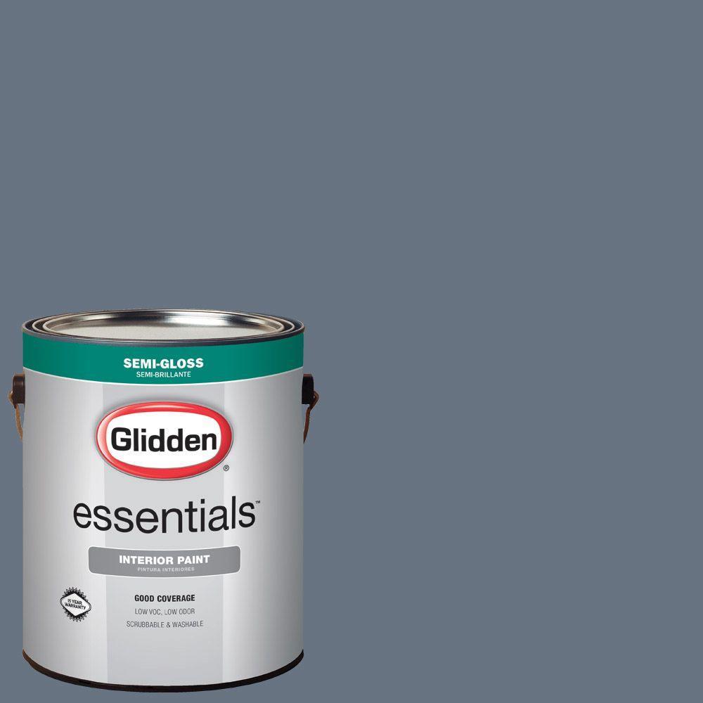 Hdgcn46d Favorite Denim Blue Semi Gloss Interior Paint