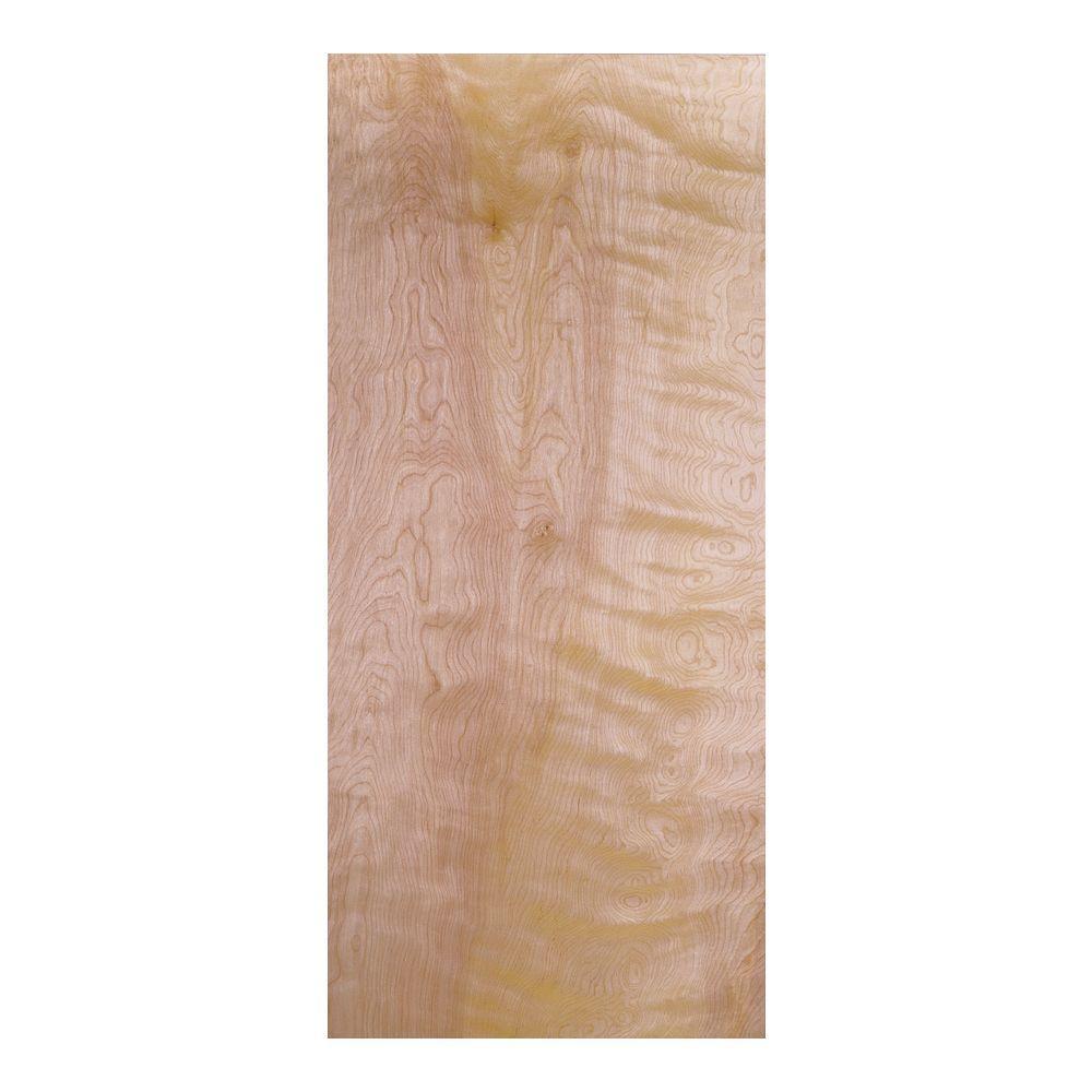 Masonite 32 in. x 80 in. Smooth Flush Hardwood Hollow Core Birch Veneer Composite Interior Door Slab