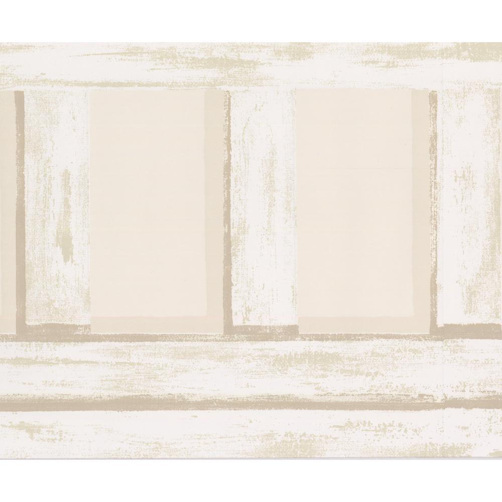 York Wallcoverings Beige Abstract Prepasted Wallpaper