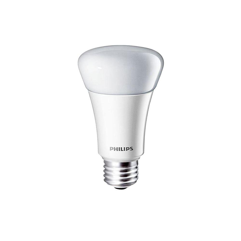 Philips 60W Equivalent Daylight (5000K) A19 Dimmable LED Light Bulb (4-Pack)