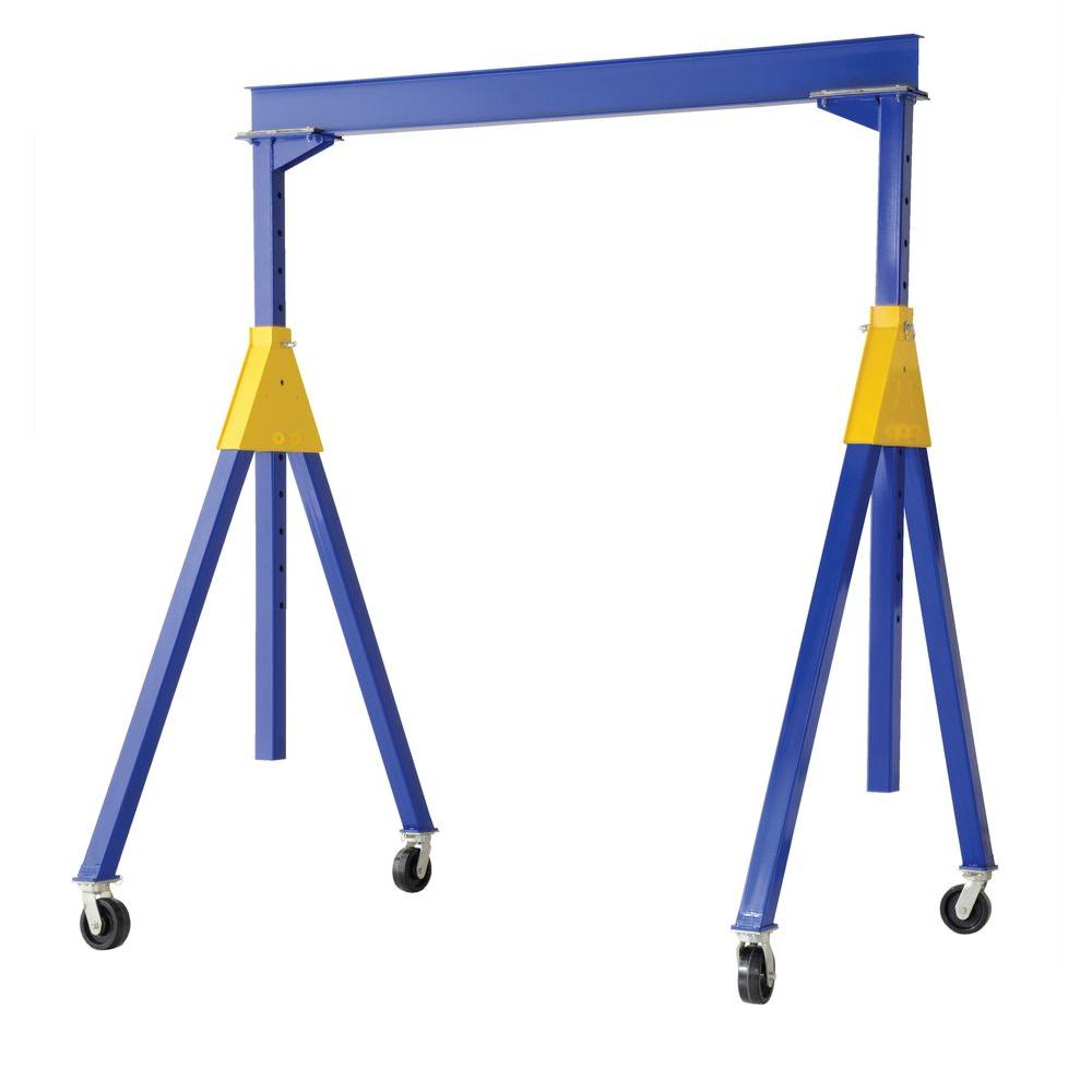 Vestil 4,000 lb. 20 ft. x 16 ft. Knock-Down Adjustable Steel Gantry Crane