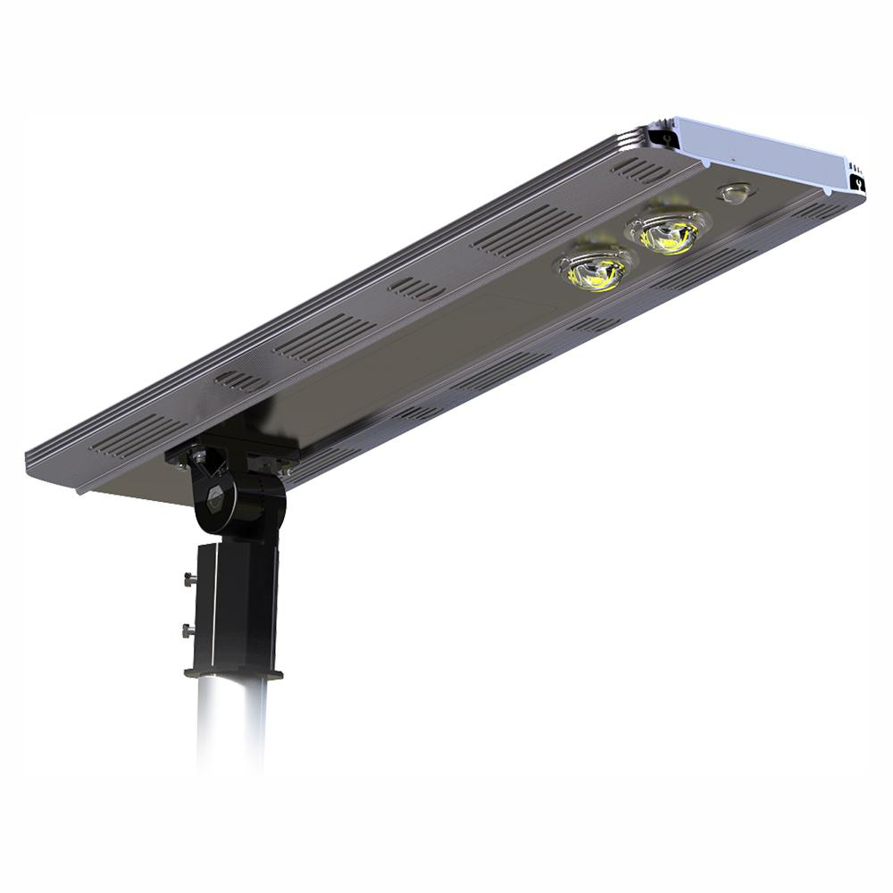 eLEDing Solar Power SMART LED Street Light for Commercial and Residential Parking Lots, Bike Paths, Walkways, Courtyard