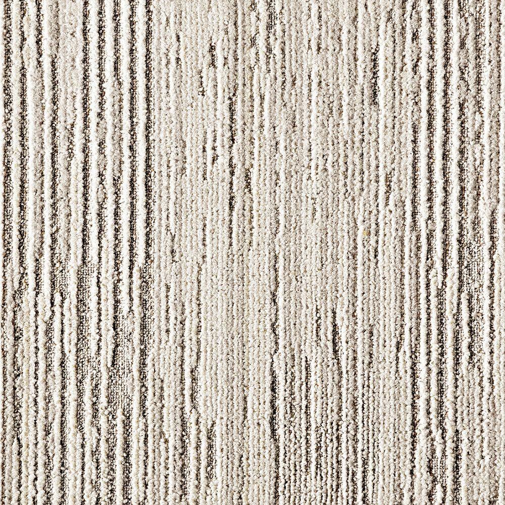 FLOR Fully Barked Chalk 19.7 inch x 19.7 inch Carpet Tile (6 Tiles/Case) by FLOR