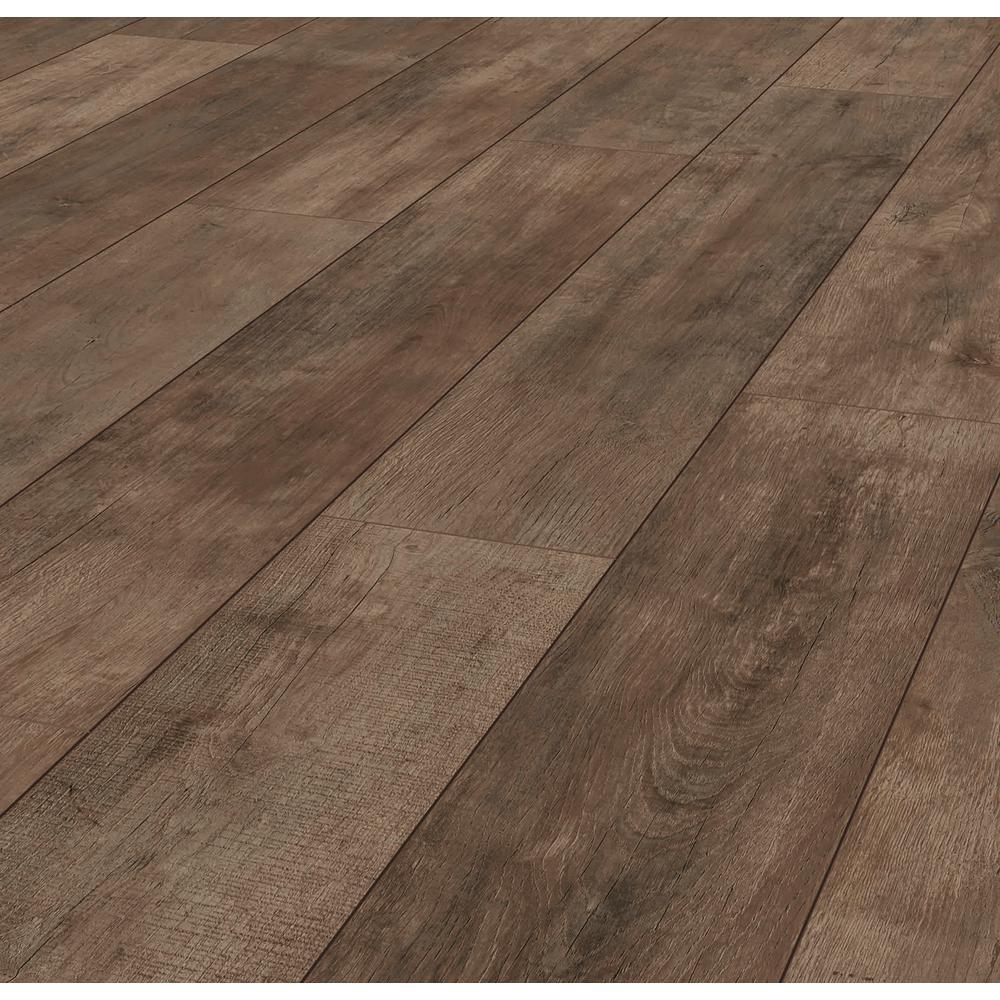 Lifeproof Jacobean Oak 12 Mm Thick X 8, White Oak Laminate Flooring Home Depot