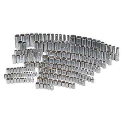 1/4 in., 3/8 in. and 1/2 in. Drive Socket Set (200-Piece)