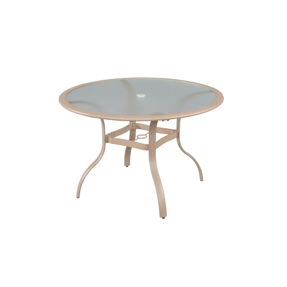 Commercial Contract Grade Round Patio Dining Table