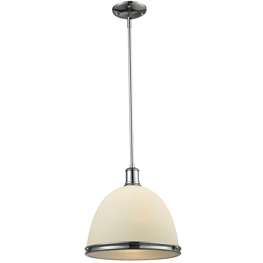 Filament Design Warren 1-Light Chrome Pendant