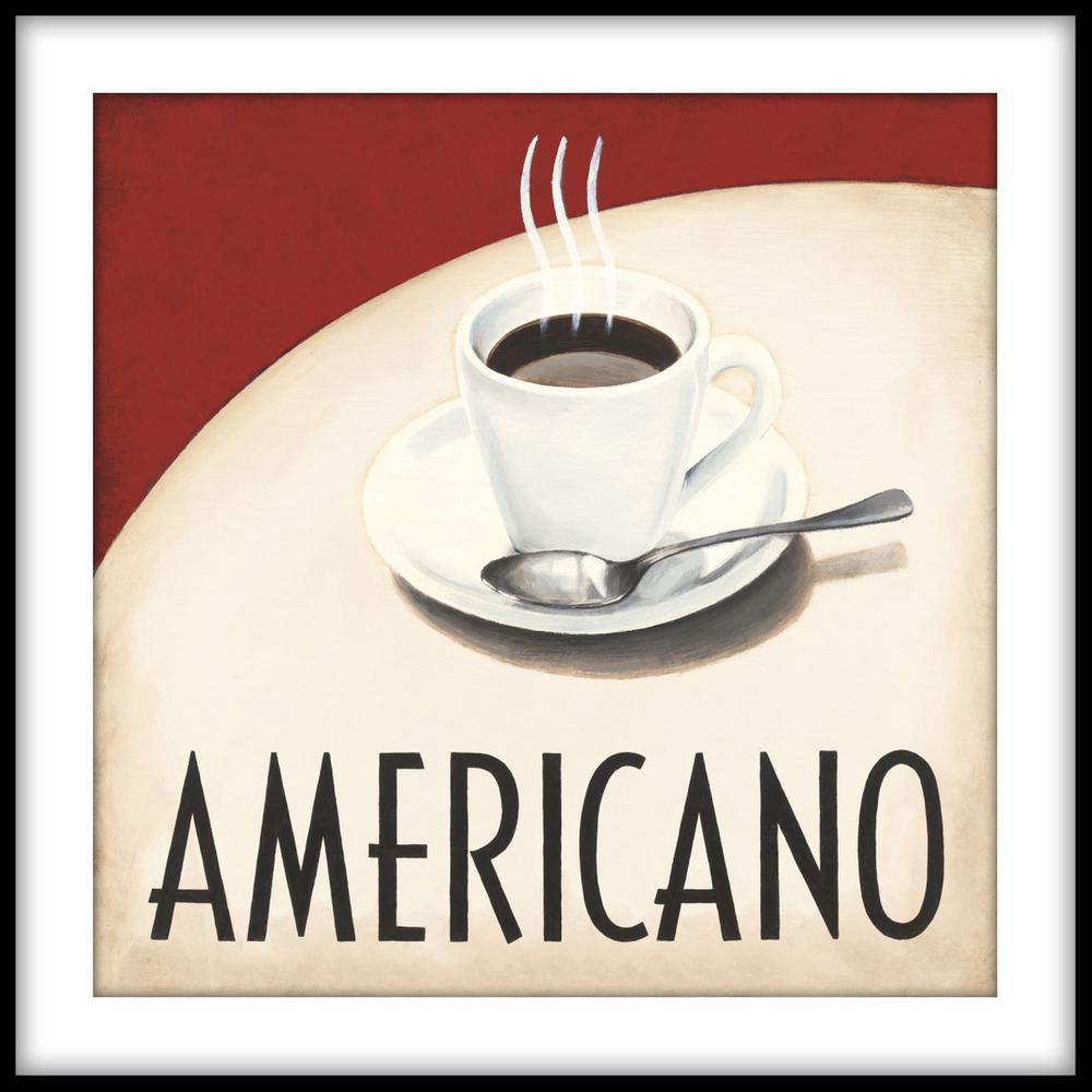 Caffe Latte Framed Wall Art