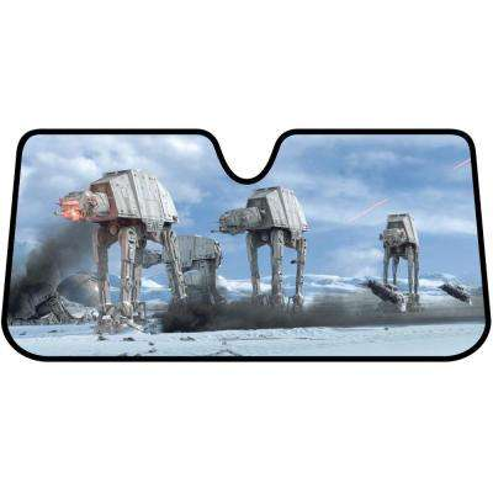Star Wars Hoth Scene Accordion Windshield Sunshade