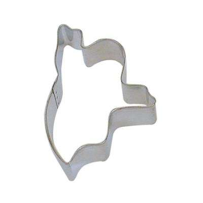 12-Piece 3.25 in. Ghost Tinplated Steel Cookie Cutter and Recipe