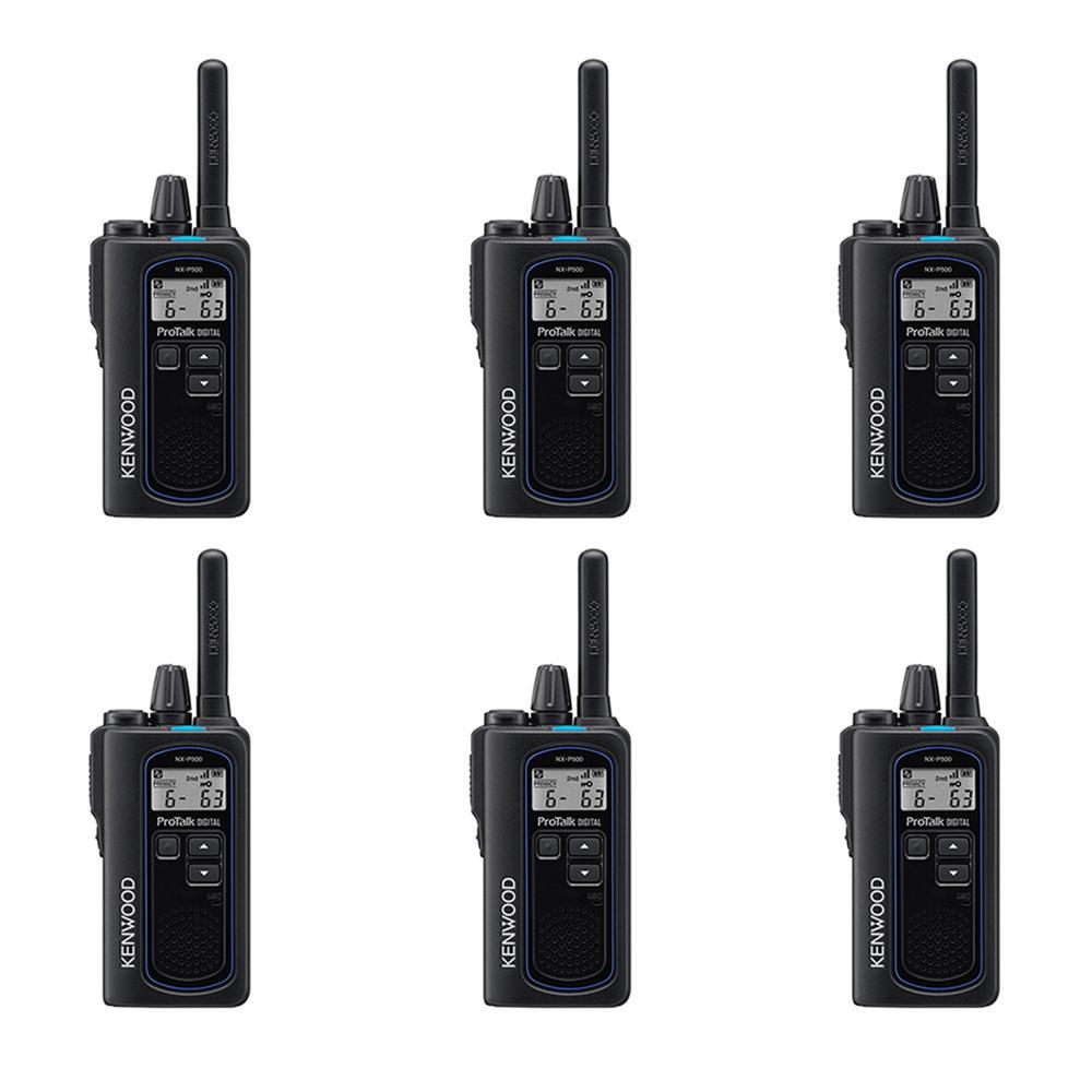 Kenwood ProTalk Digital UHF 2-Way Business Radio (6-Pack)