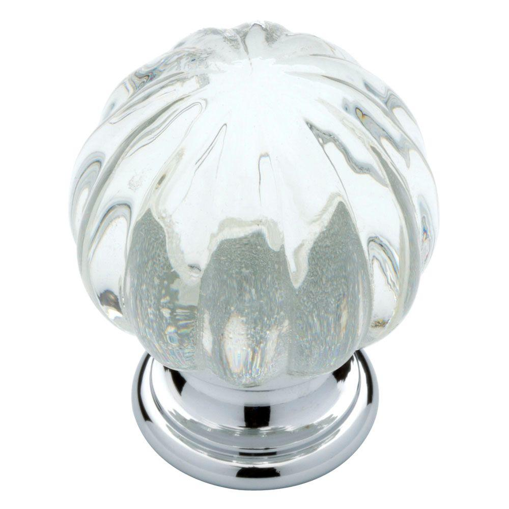 Clear acrylic knobs