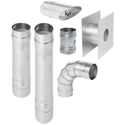 Horizontal Vent Kit for B-Vent Garage Heaters