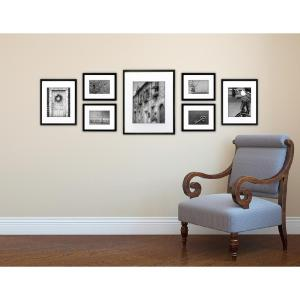 Pinnacle 7-Opening Matted Picture Frame by Pinnacle