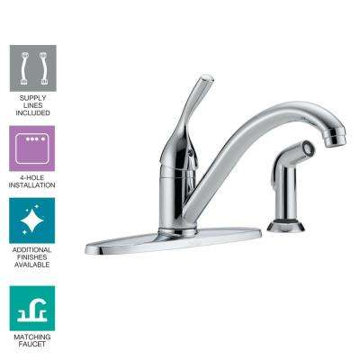 Delta 4 Hole Kitchen Faucets Kitchen The Home Depot