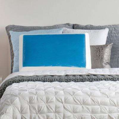 Memory Foam And Hydraluxe Gel Standard Bed Pillow