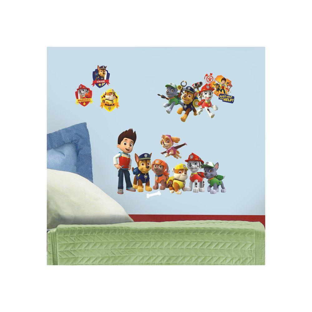 RoomMates 5 in. x 11.5 in. Paw Patrol Peel and Stick Wall Decal
