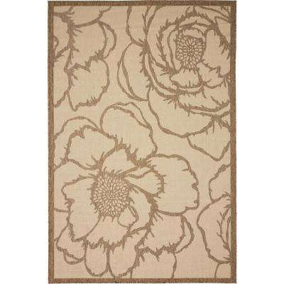 Outdoor Rose Beige 6' 0 x 9' 0 Area Rug