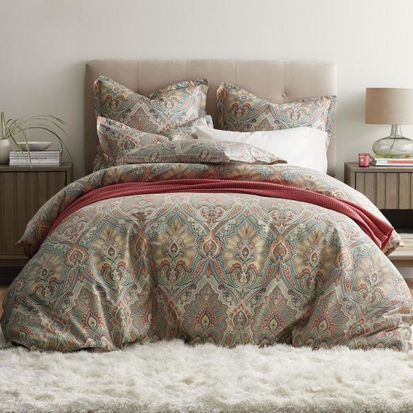 The Company Store Aberdeen Paisley 300-Thread Count Wrinkle-Free Sateen King