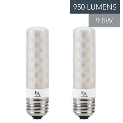 75-Watt Equivalent E26 Base Dimmable 2700K LED Light Bulb Warm White (2-Pack)