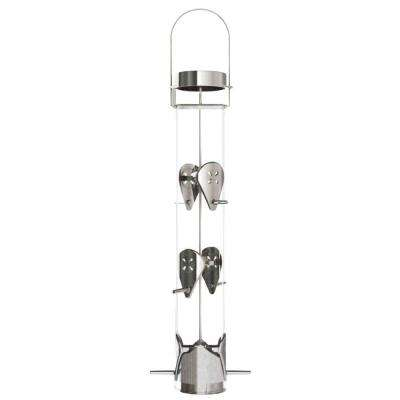 16 in. Ring Pull 6-Port Nyjer Bird Feeder