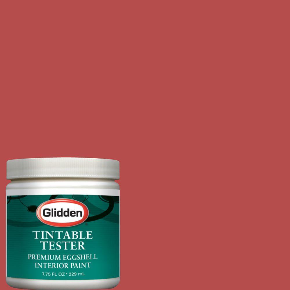 Glidden Premium 8-oz. Terra Cotta Rose Interior Paint Tester
