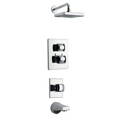 Lady Chrome Shower Combo 5