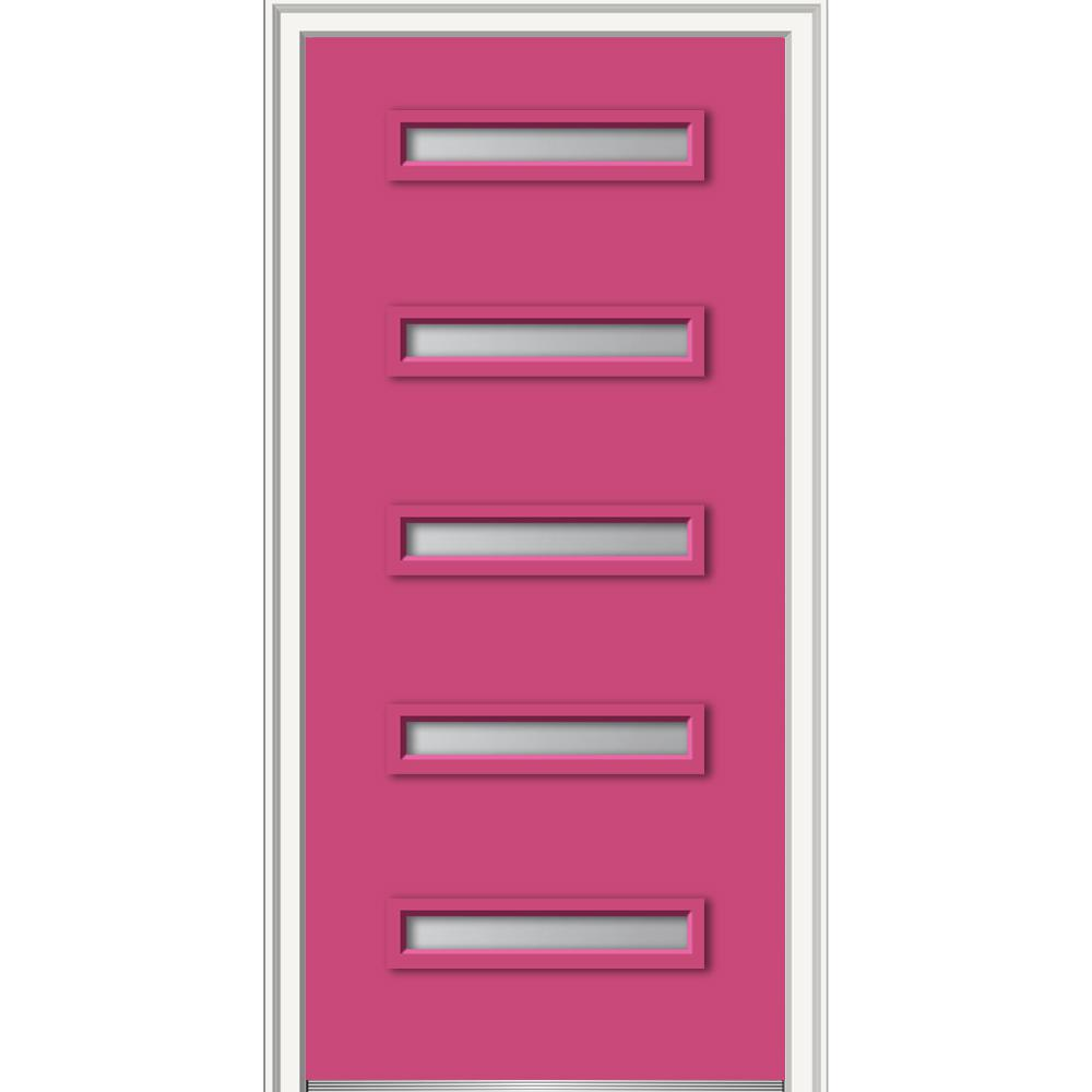 Pink - Front Doors - Exterior Doors - The Home Depot