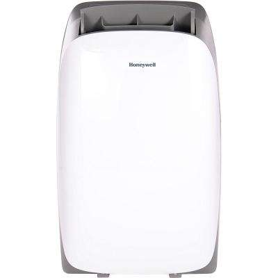 HL Series 14,000 BTU Portable Air Conditioner with Dehumidifier and Remote Control - White/Gray