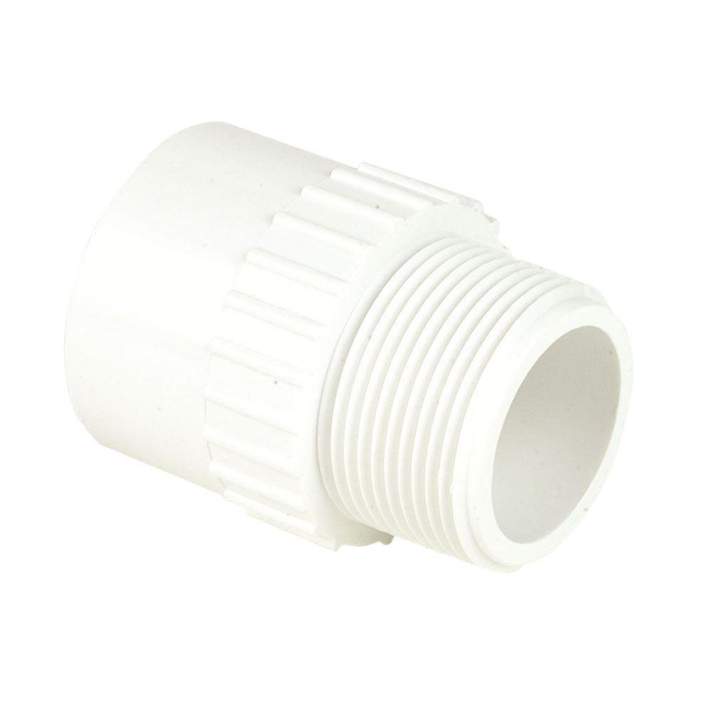 1 in. Schedule 40 PVC Male Adapter