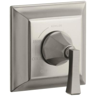 Memoirs Stately 1-Handle Tub and Shower Faucet Trim Kit in Vibrant Brushed Nickel (Valve Not Included)