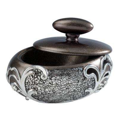 Pacifica Polyresin Decorative Box with Lid