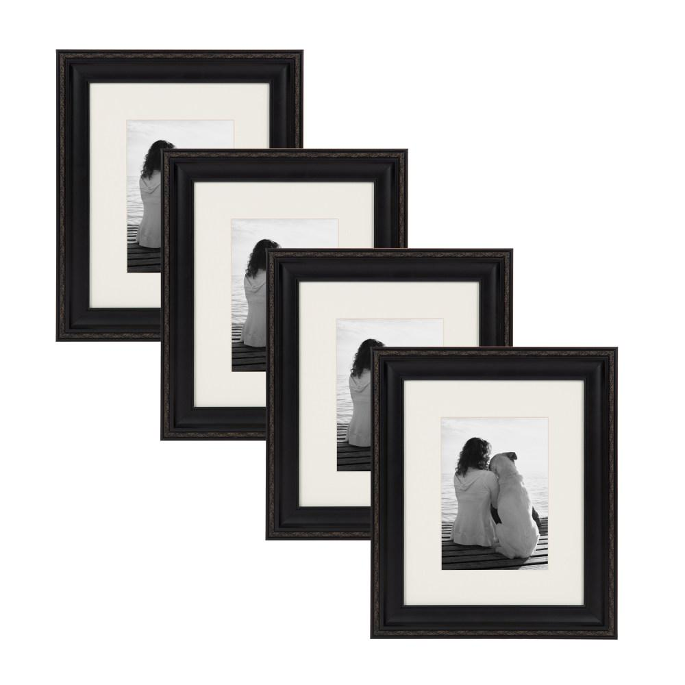 Pinnacle 9-Opening Matted Picture Frame-14FW1018 - The Home Depot