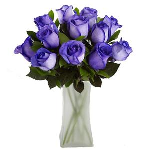 The Ultimate Bouquet Gorgeous Deep Purple Rose Bouquet In