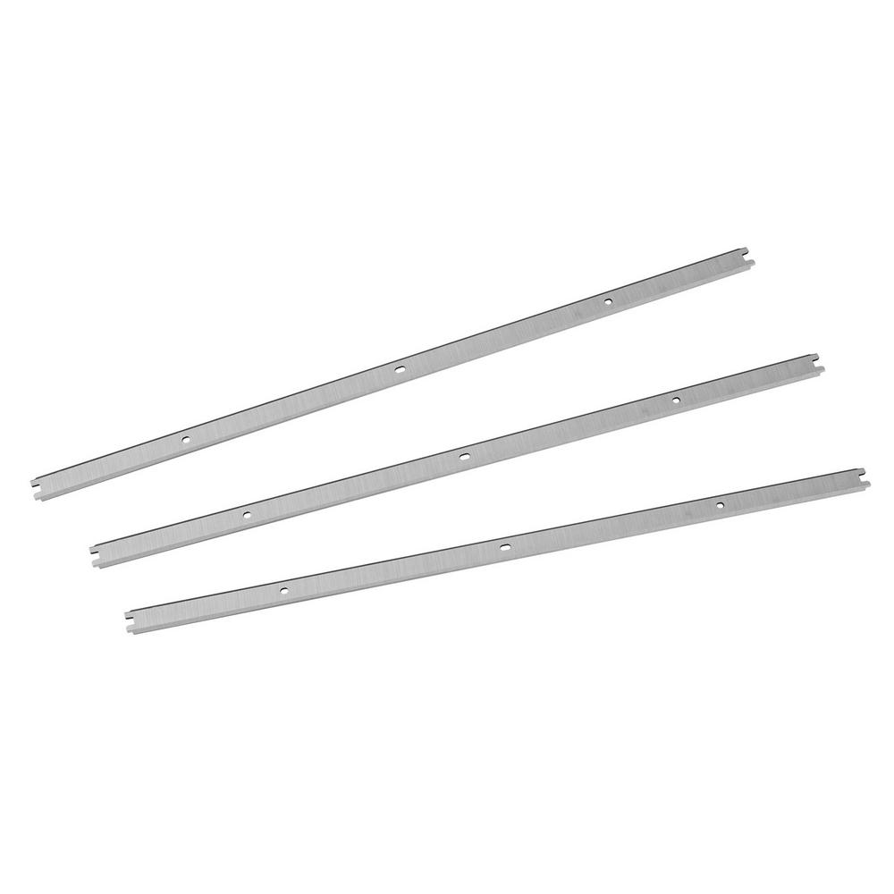 13-3/8 in. High-Speed Steel Planer Knives for Ridgid R4330 (Set of