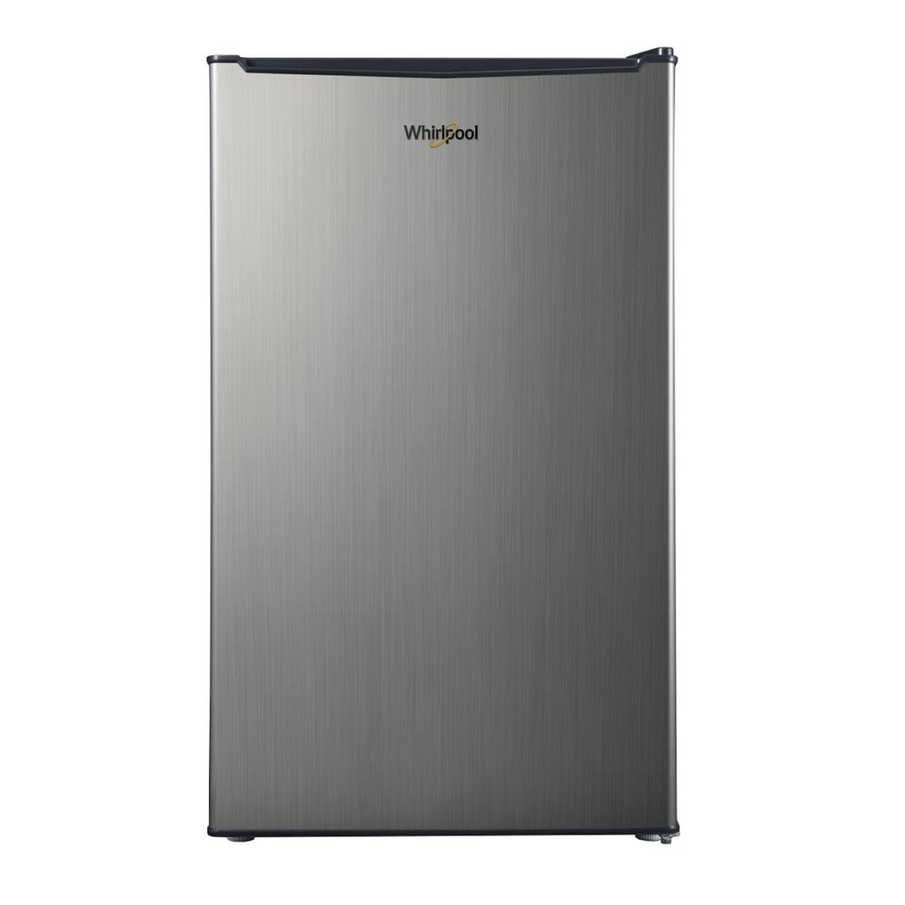 Whirlpool Whirlpool 3.5 cu. ft. Mini Refrigerator Single Door Only in Stainless Look