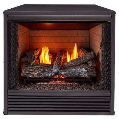 No Additional Features Dual Fuel Ng Lp Gas Fireplace