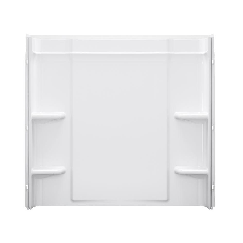 Sterling Ensemble 60 in. x 73 in. 1-piece Back Wall Direc...