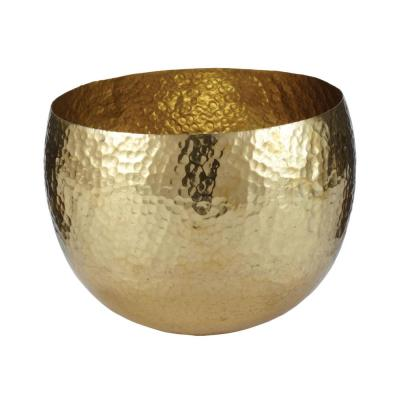 Gold Hammered Small Brass Dish