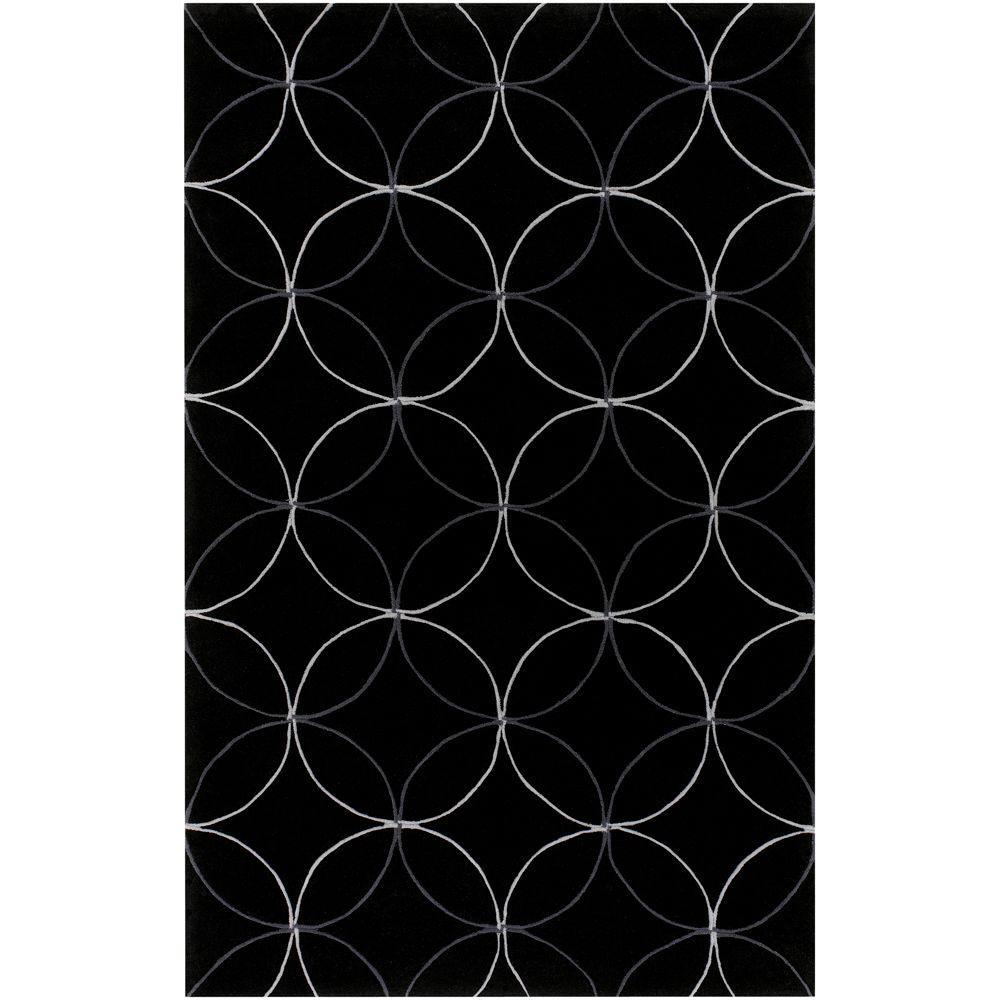 Cerbat Black 3 ft. 6 in. x 5 ft. 6 in. Area Rug