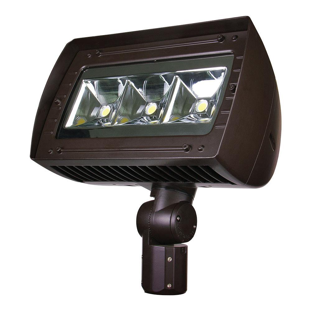 950-Watt Equivalent Integrated Outdoor LED Flood Light, 14500 Lumens, Dusk To Dawn Outdoor Security Light