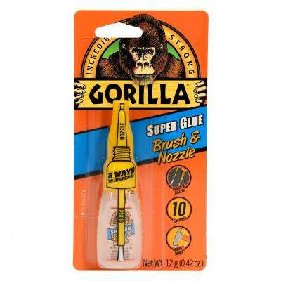 12 g Super Glue Brush and Nozzle (10-Pack)
