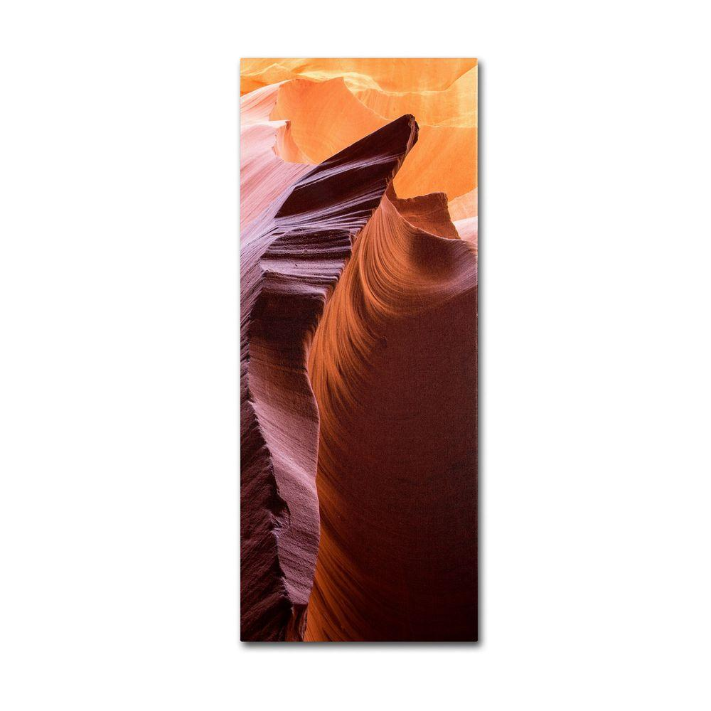 24 in. x 12 in. Lower Wave IV Canvas Art