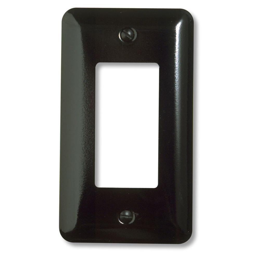 Black Switch Plates Distressed  Black  Switch Plates  Wall Plates  The Home Depot