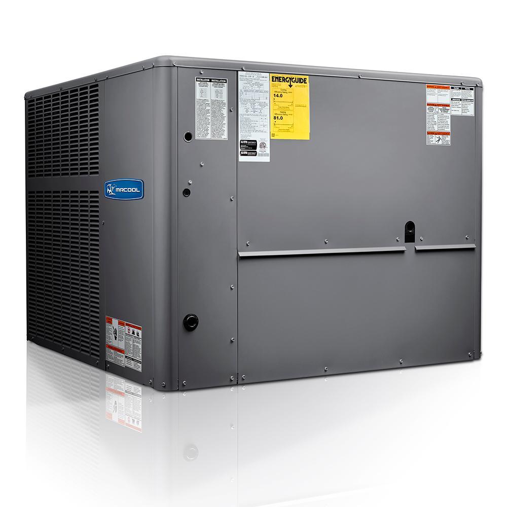 4 Ton 14 SEER R-410A Multi-Position Package Heat Pump