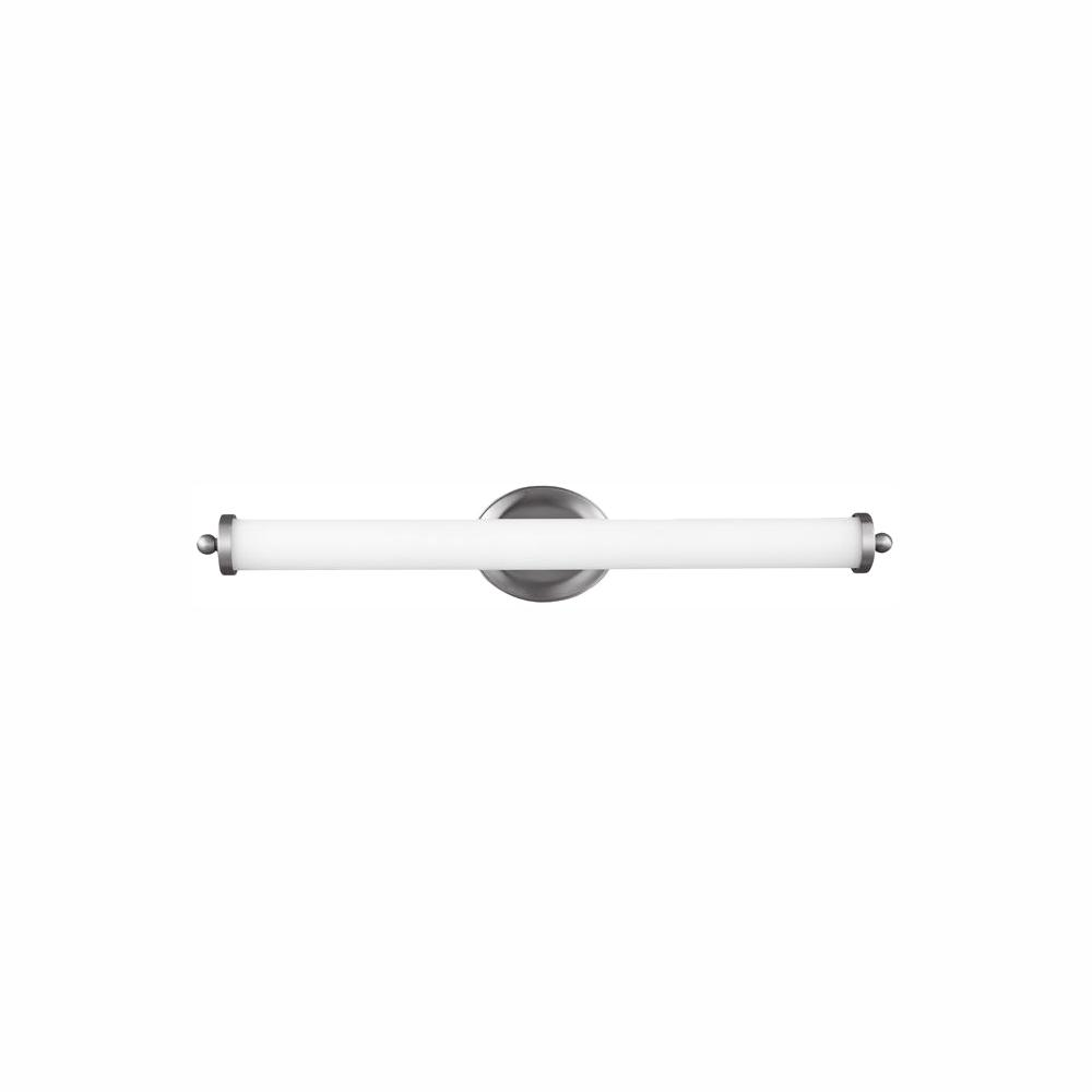Feiss Elliston 41-Watt Satin Nickel Integrated LED Bath Light