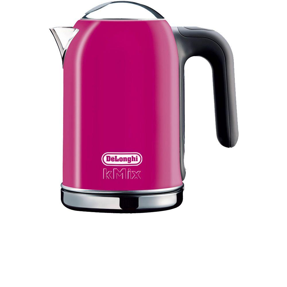 DeLonghi kMix 1.6 Liter Electric Kettle in Magenta-DISCONTINUED
